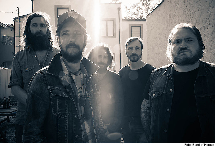 Band of Horses kommen in die Muffathalle