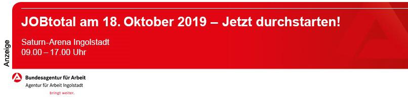 Agentur für Arbeit Ingolstadt - Jobtotal 2019