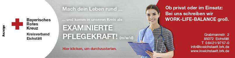 BRK Eichstätt Examinierte Pflegekraft 2020 im Text