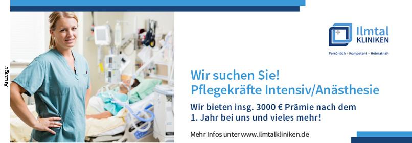 Intensivpflegekräftesuche Ilmtalklinik