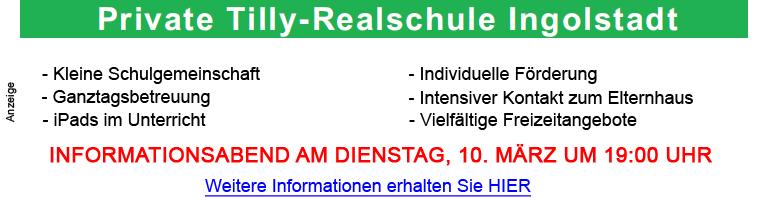 Tilly-Realschule 2020 Infoabend 1